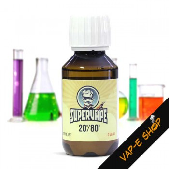 Base Neutre SuperVape PG20/VG80 - 120ml