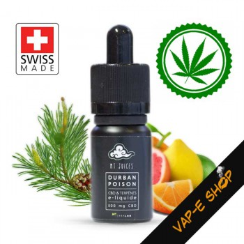 E-liquide CBD 500 Durban Poison MT Juices