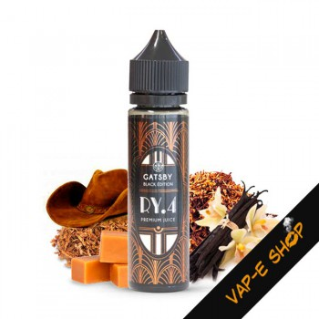 E liquide RY4 Gatsby Black Edition - 50ml