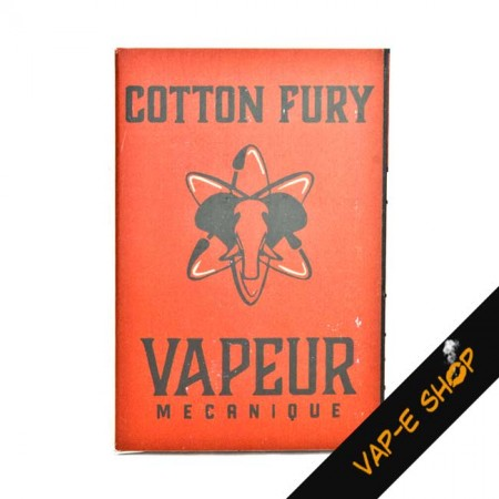 Cotton Fury - Vapeur Mecanique - 20 pads
