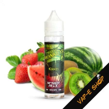 E liquide Kanzi 12 Monkeys - Recharge E cigarette 50ml