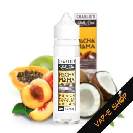 E liquide Pachamama Pêche Papaye Coco 50ml