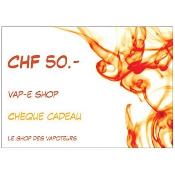 BON CADEAU CHF 50.-