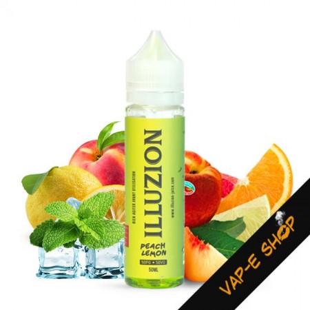 E liquide Peach Lemon Illuzion - Recharge 50ml