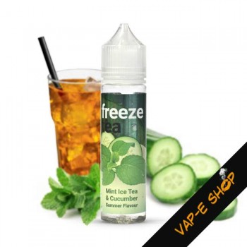 Freeze Tea, Mint Ice Tea and Cucumber - 50ml