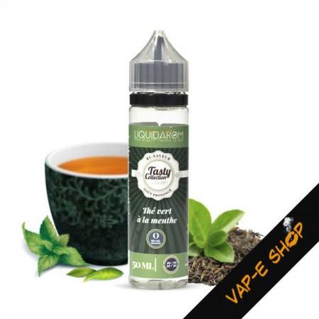E liquide Thé Vert à la Menthe, LiquidArom - 50ml