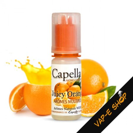 Arôme Juicy Orange, Concentré Capella Flavors - 10ml