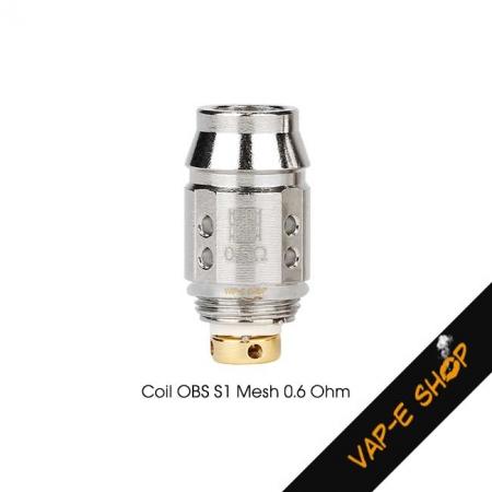 Résistance Cube Mini OBS S1 Mesh 0.6Ohm