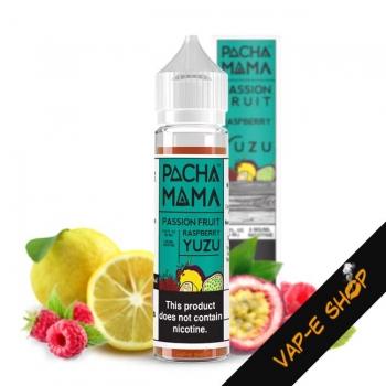 E liquide Passion Fruit Raspberry Yuzu, Pachamama - 50ml