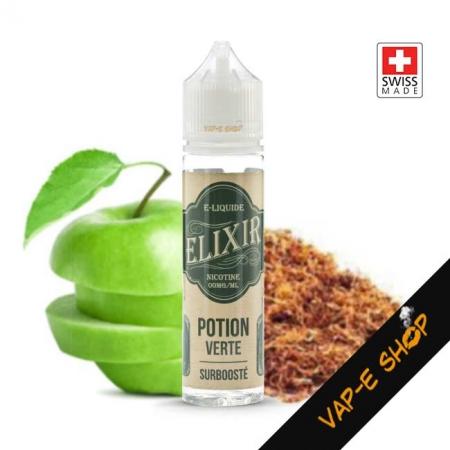 E liquide Suisse Elixir Potion Verte 50ml