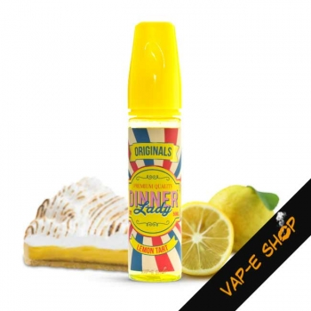 E liquide Lemon Tart Dinner Lady, 50 ml