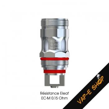 Résistance EC-M 0.15Ohm Eleaf