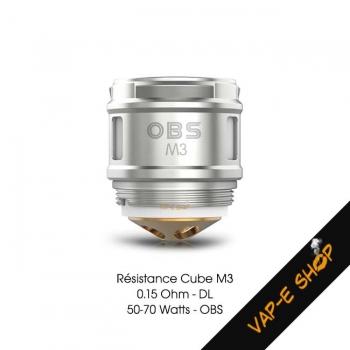 Résistance Cube OBS - M3
