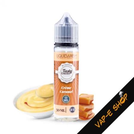 E liquide Crème Caramel - LiquidArom - 50ml
