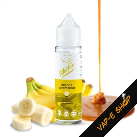 E liquide Banane Caramélisee - Machin - 50ml