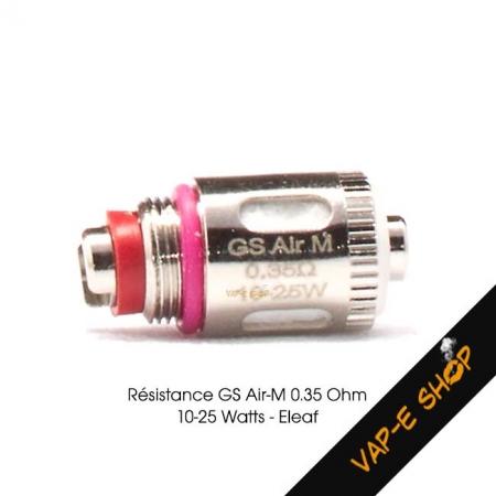 Résistance GS Air M - Eleaf - 0.35 Ohm