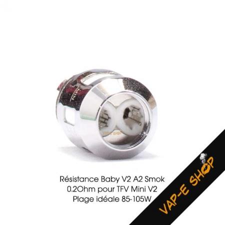 Résistance Baby V2 A2 Smok - 0.20 Ohm