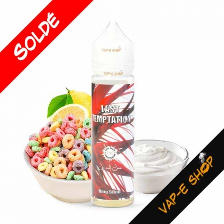 E liquide Last Temptation ZHC 50ml - Jin And Juice