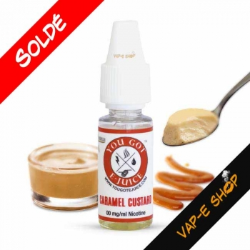 Caramel Custard- You Got E-Juice