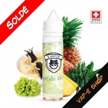 Wasabi Shot - B-Vapor - Recharge E liquide 50ml