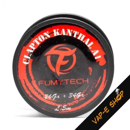 Bobine Fil Kanthal A1 26ga + 34ga - Fumytech