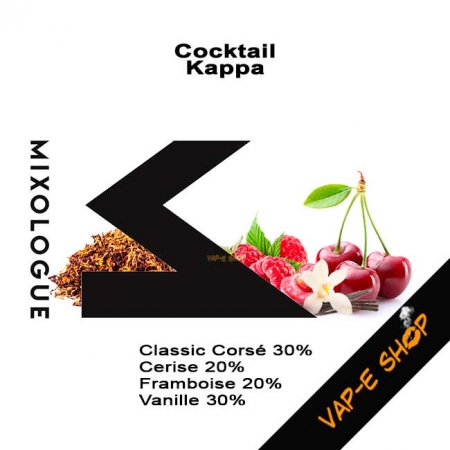 Cocktail Kappa - Le Mixologue