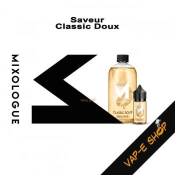 E-liquide Classic Doux - Le Mixologue