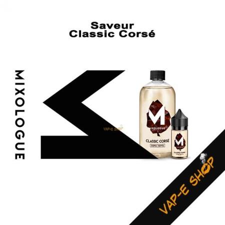 E-liquide Classic Corsé - Le Mixologue