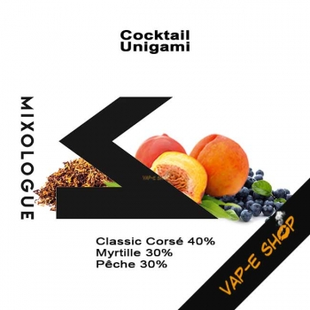 E-liquide Unigami - Le Mixologue