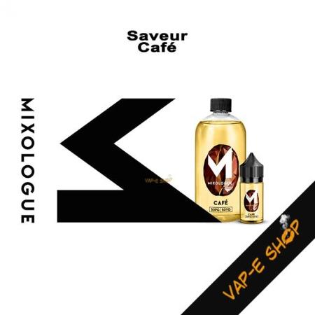 Saveur Café - E-liquide Le Mixologue
