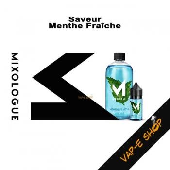 E-liquide Menthe Fraîche - Le Mixologue