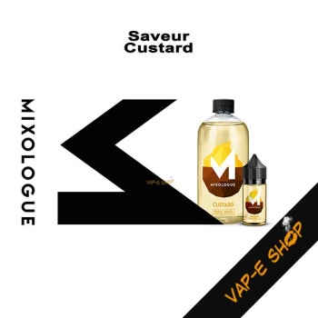 E-liquide Custard - Le Mixologue