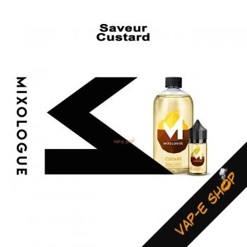 E-liquide Custard - Le Mixologue