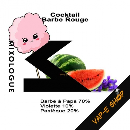 E-liquide Barbe Rouge - Le Mixologue