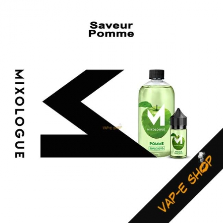 E-liquide Pomme - Le Mixologue