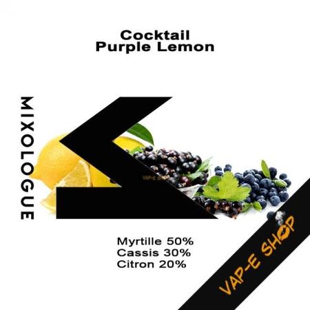 E-liquide Purple Lemon - Cocktail Le Mixologue