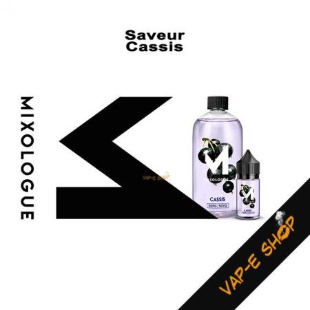 E-liquide Cassis - Le Mixologue