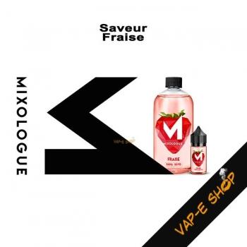 Mixologue - E-liquide Fraise