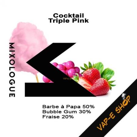 E-liquide Triple Pink - Cocktail Le Mixologue