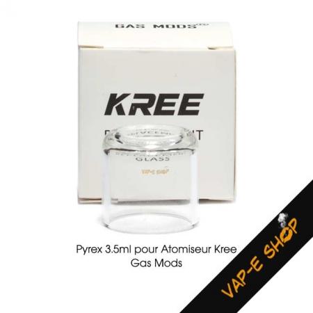 Tube Pyrex Kree RTA Gas Mod - 3.5ml