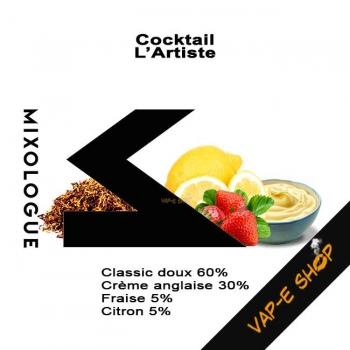 E-liquide L'Artiste - Cocktail Le Mixologue