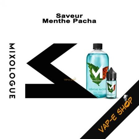 Menthe Pacha, E-liquide frais Le Mixologue