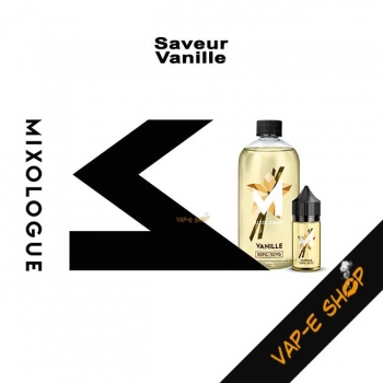 Vanille Le Mixologue - E liquide Gourmand