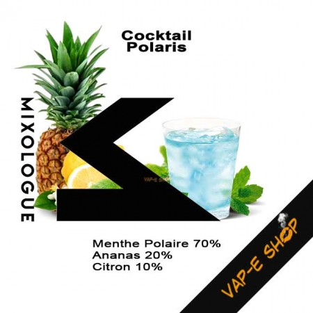 Cocktail Polaris - Le Mixologue
