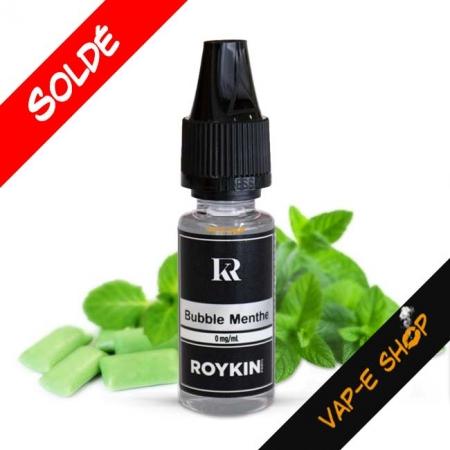 E-Liquide Roykin Saveur Bubble Menthe - 10 ml