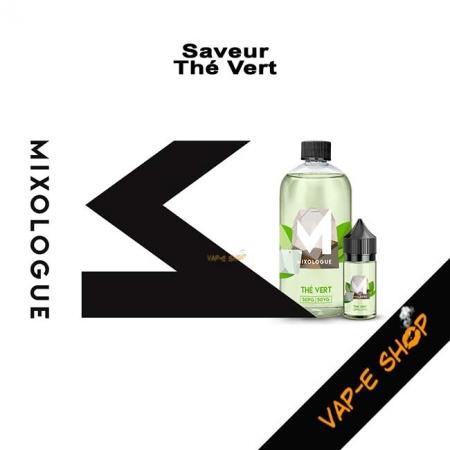 E-liquide Thé Vert - Le Mixologue