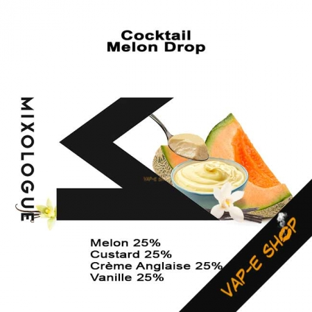 Cocktail Melon Drop - Mixologue