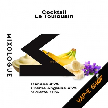 E-liquide Le Toulousin. Coctkail Le Mixologue