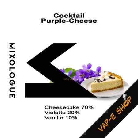 Cocktail Purple Cheese - E liquide Le Mixologue