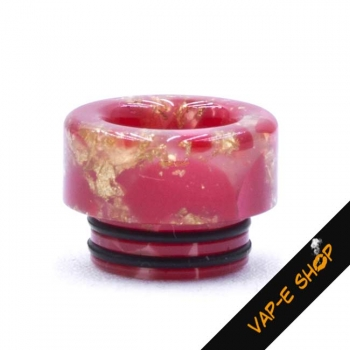 Drip Tip 810 Shiny - Rouge et Or